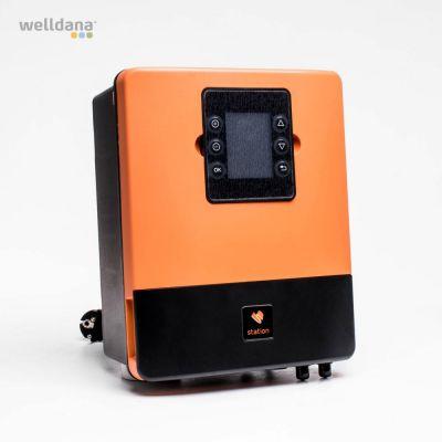 Kemistyring og poolkontrol pH + Redox  Control Station komplet, med sensorer
