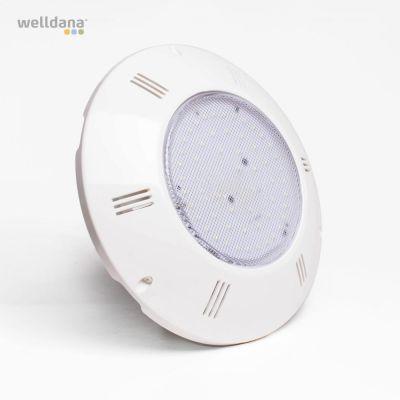 LED flad lampe 60 led hvid 6500K