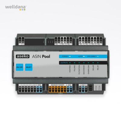 ASIN Pool Aseko Poolstyring. App styring Intelligent LAN kontroller til flere enheder.