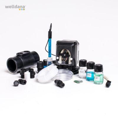 PH sæt til KLX med sensor og doseringspumpe