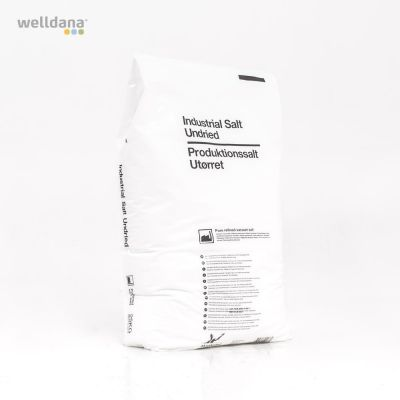Salt raffineret  i 25kg sæk.
