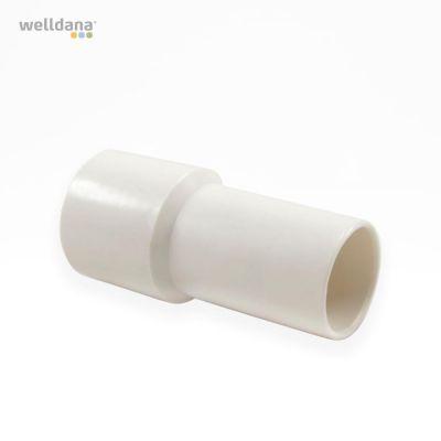 Vacuum slange cuffs m/indvendig gevind til ø38mm