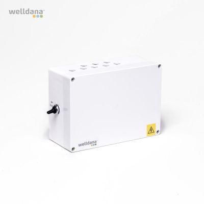 Welldana® Poolkontrol 1x230 inkl. Temperaturføler.
