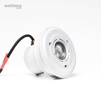 Welldana® Poollampe 50W 12V Inc. liner kit (hul diam110mm)
