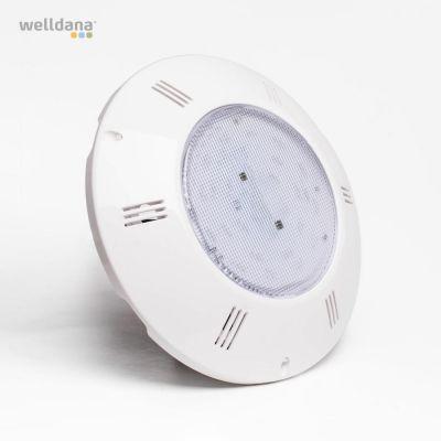 LED flad lampe 90 led  RGB m.fjernbetjening