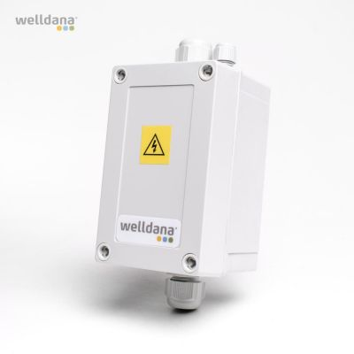 Welldana® Kontakterboks Til max 12 kW elvarmer.