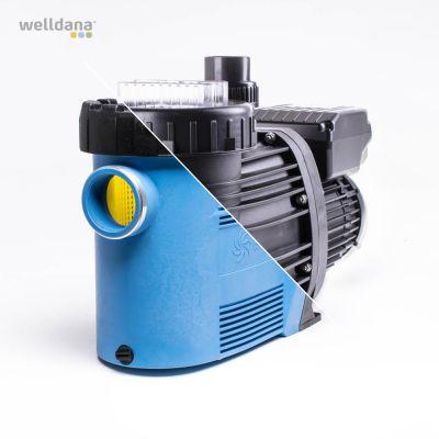 Badu Prime 90 Eco VS, 230V. 1,10 kW. 3-speed