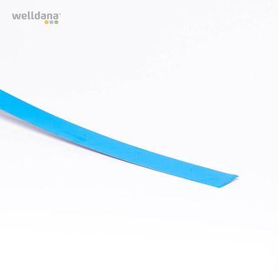 Folieblik 5 x 200cm.  Lige model. Blå.