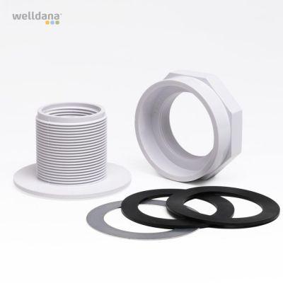 Vacuumfitting  Til stål/polyester pool