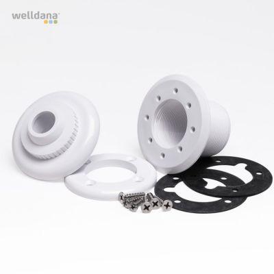 Indløbsdyse 1,5'' - 50 mm, liner Cofies