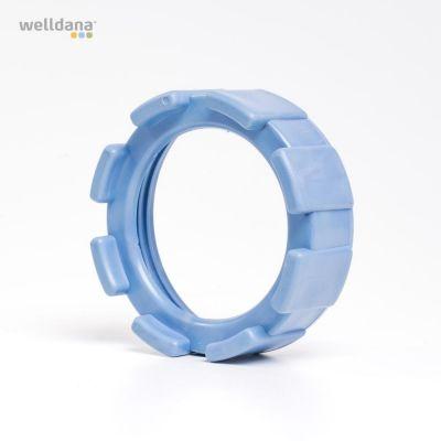 locking ring for thread cell Old model light blue/UDGÅET