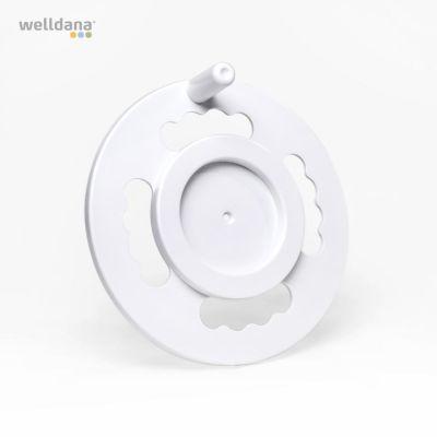 Håndhjul til oprulningsstativ Diameter 290mm.