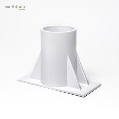 Base/fod til oprulningsstativ standard above ground, Flipper