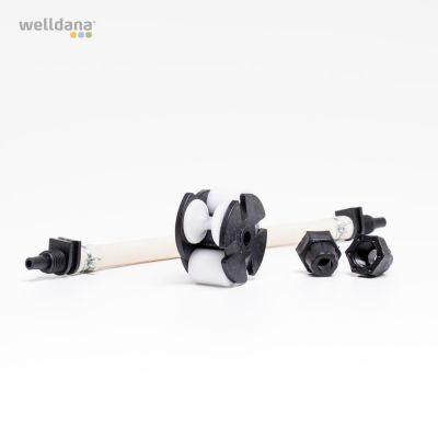 Rep.sæt t/peristaltisk pumpe 4 Liters ( Slange+drivhjul),