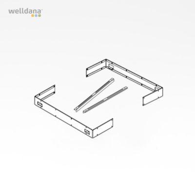 Beslag til kantliste sæt Sentiotec Concept Mini