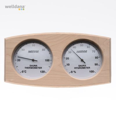 Thermo/hygrometer træramme