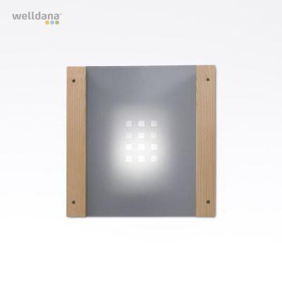 Lampeskærm, glas til hjørnemontage