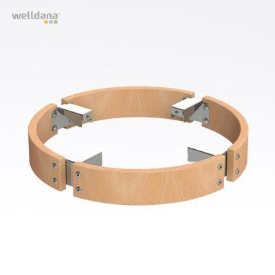 Sikkerheds Ring i træ f. Cilindro