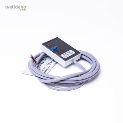 Niveausensor. 12V. Kapacitiv Sensor  MHE-NS-2D  H7-208