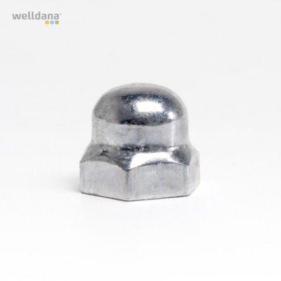Kappemøtrik - NY - metal Til sikkerhedstermostat