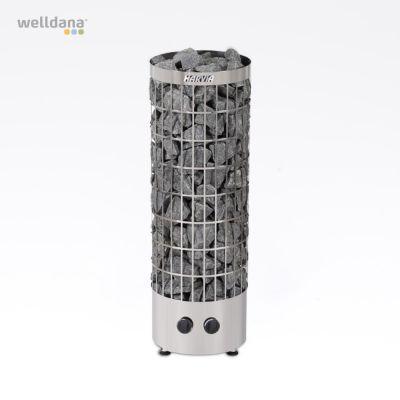 Cilindro fritstående saunaovn med indbygget styring