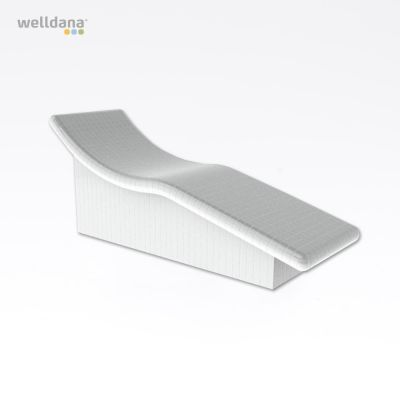 Harvia Sleep bænk, uden beklædning Polystyren, vandresistent, 70.0x84.4x205.1cm